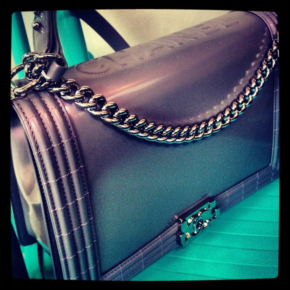 chanel boy bag lilac