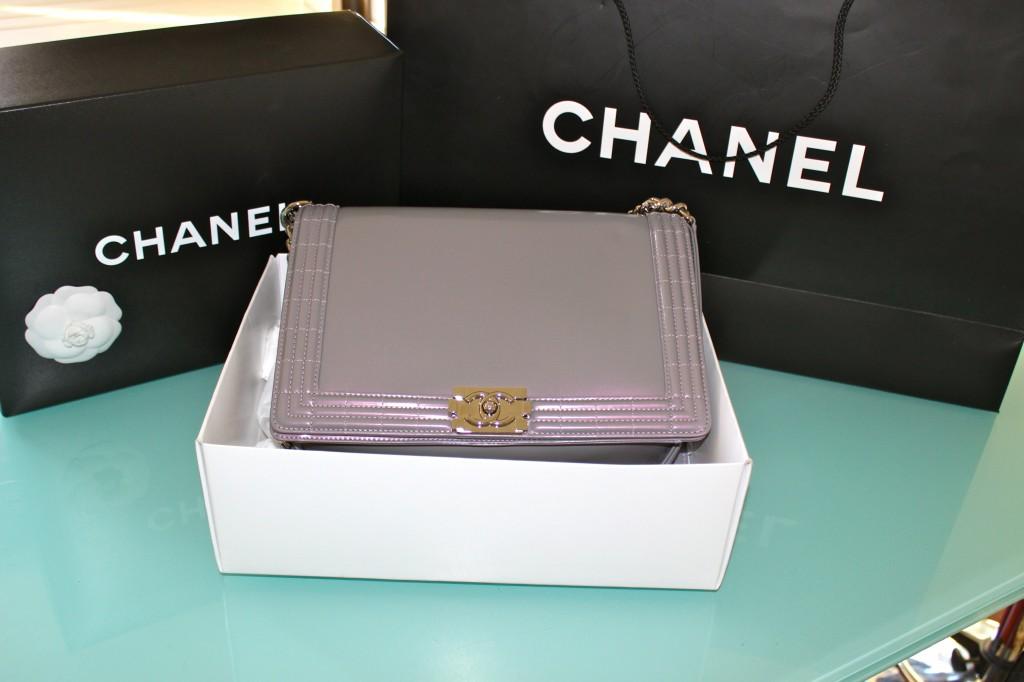 new chanel boy bag