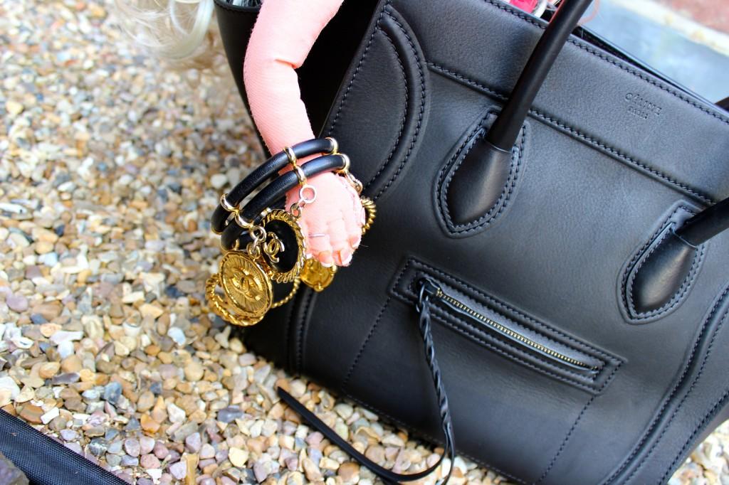 Celine phantom black bag