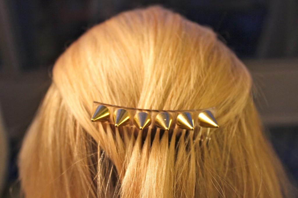 spike hair piece