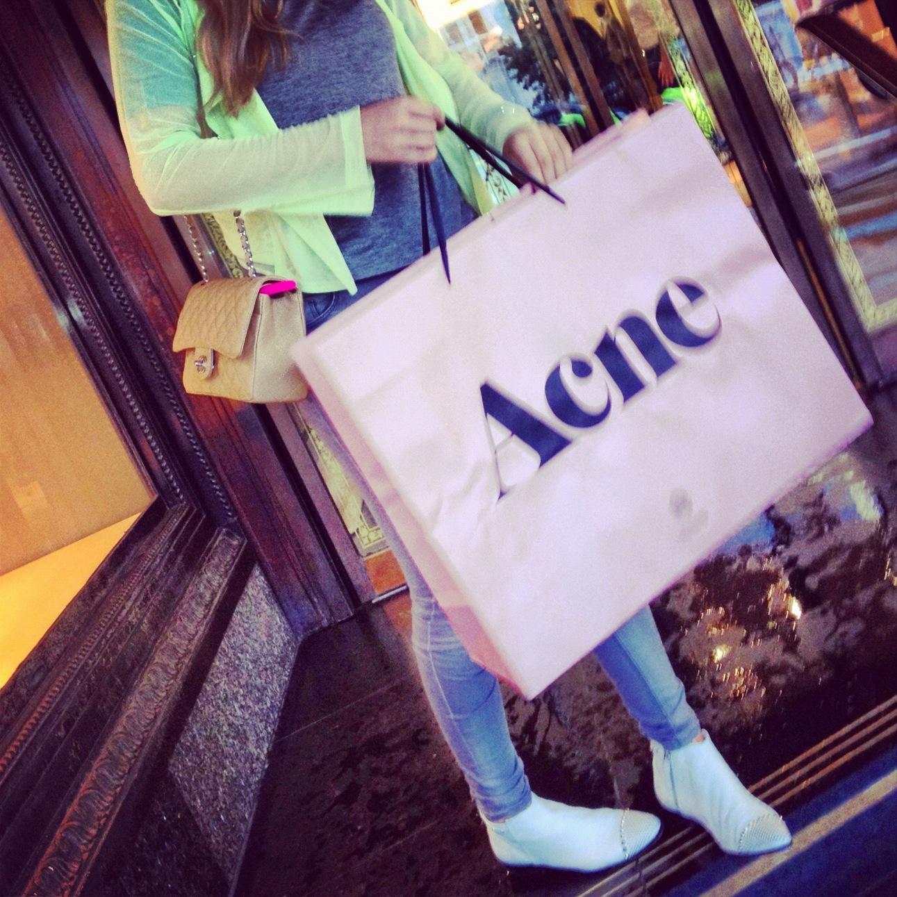 Acne jacket purchase