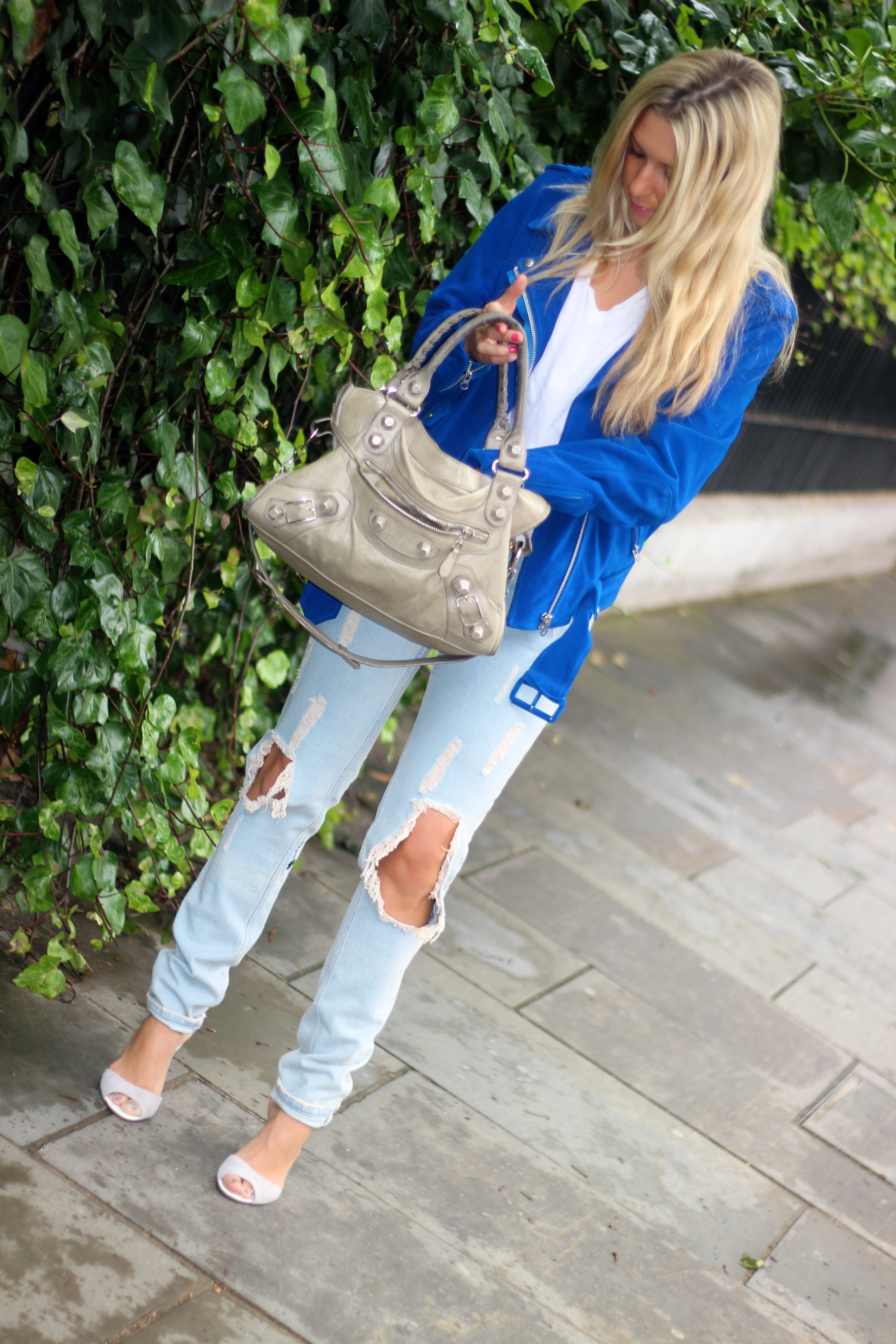 balenciaga purse balenciaga bag acne jacket one teaspoon pants asos shoes