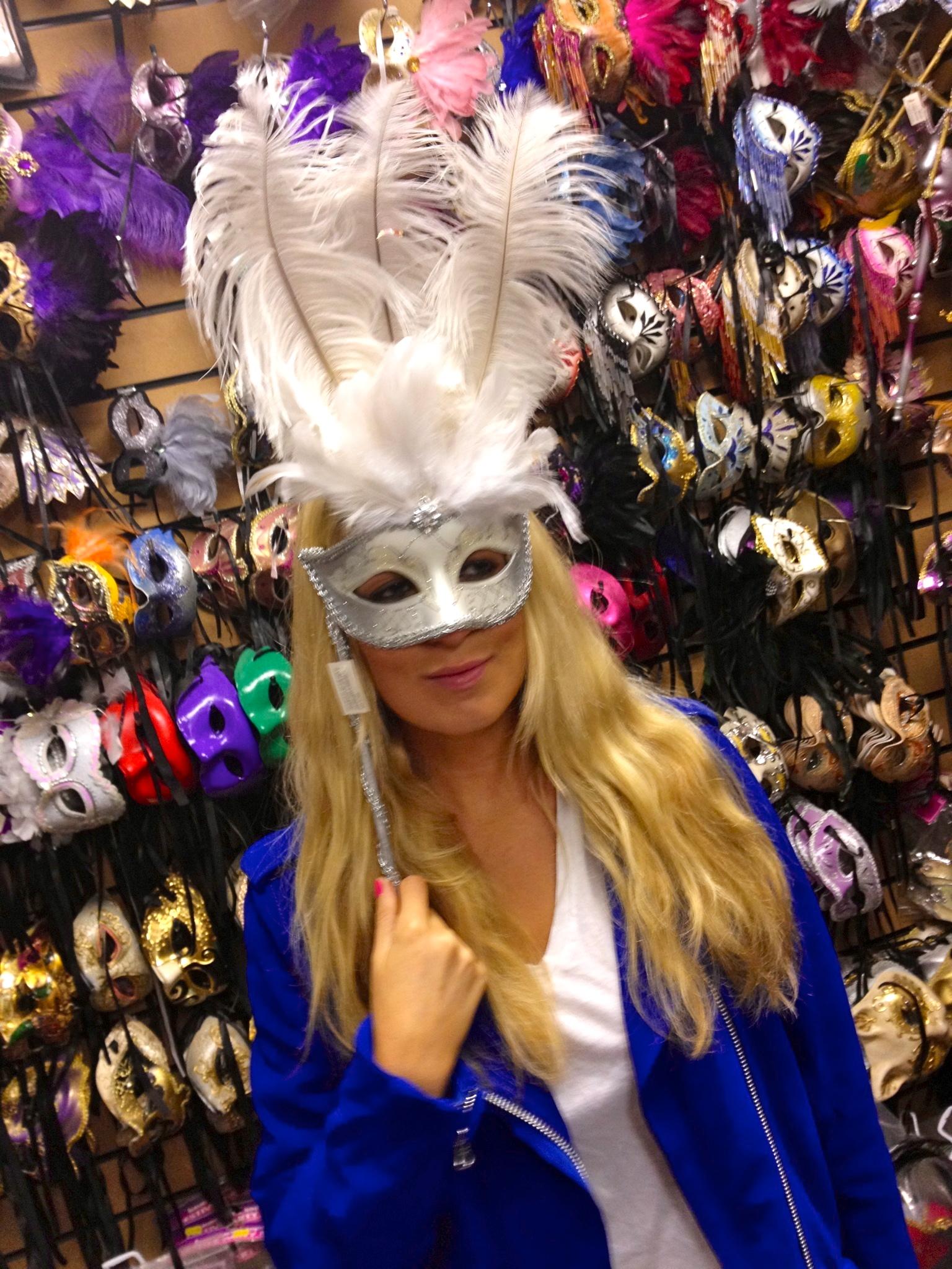 venetian mask fashion blog