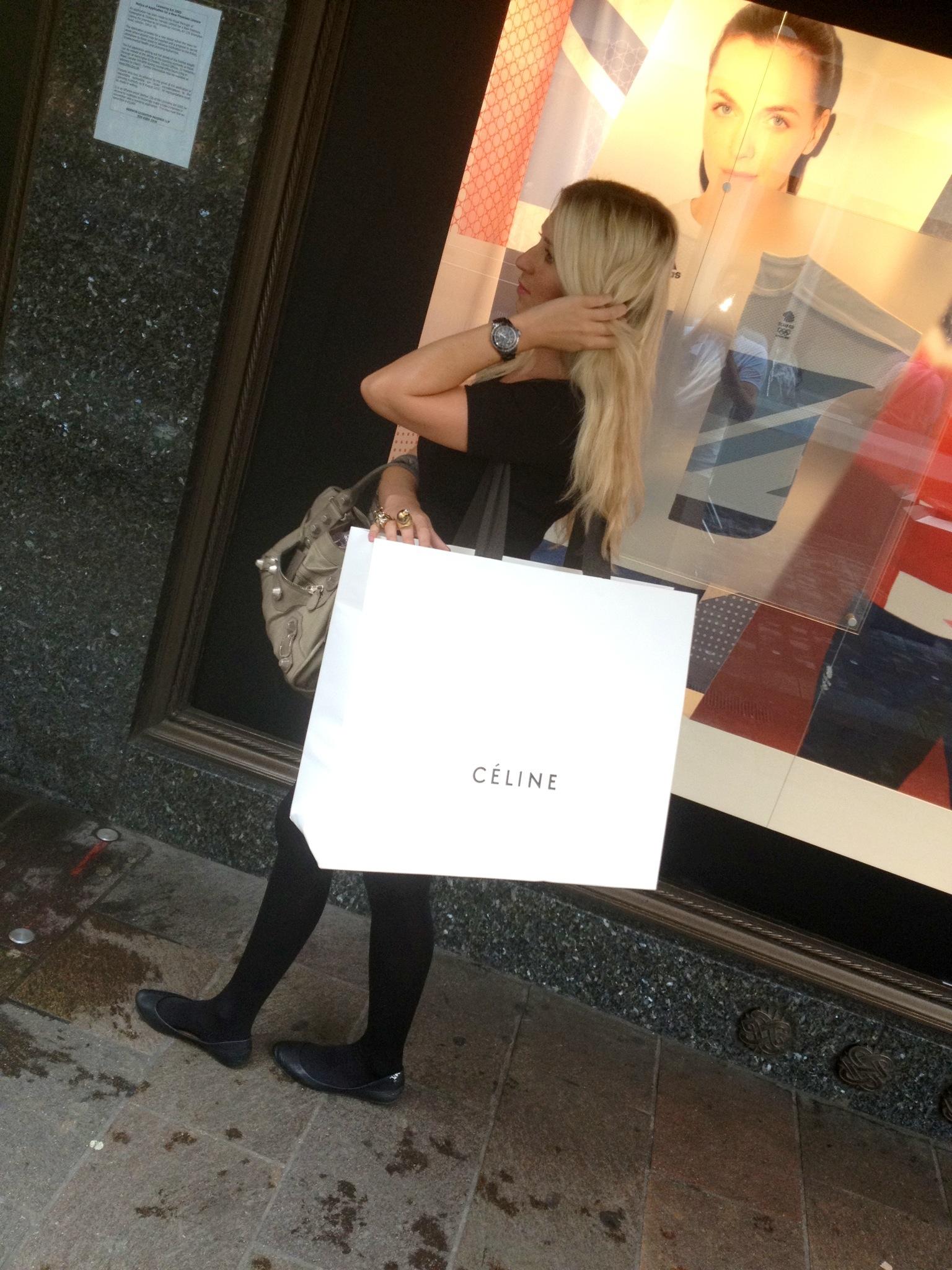 celine shopping celine purchase