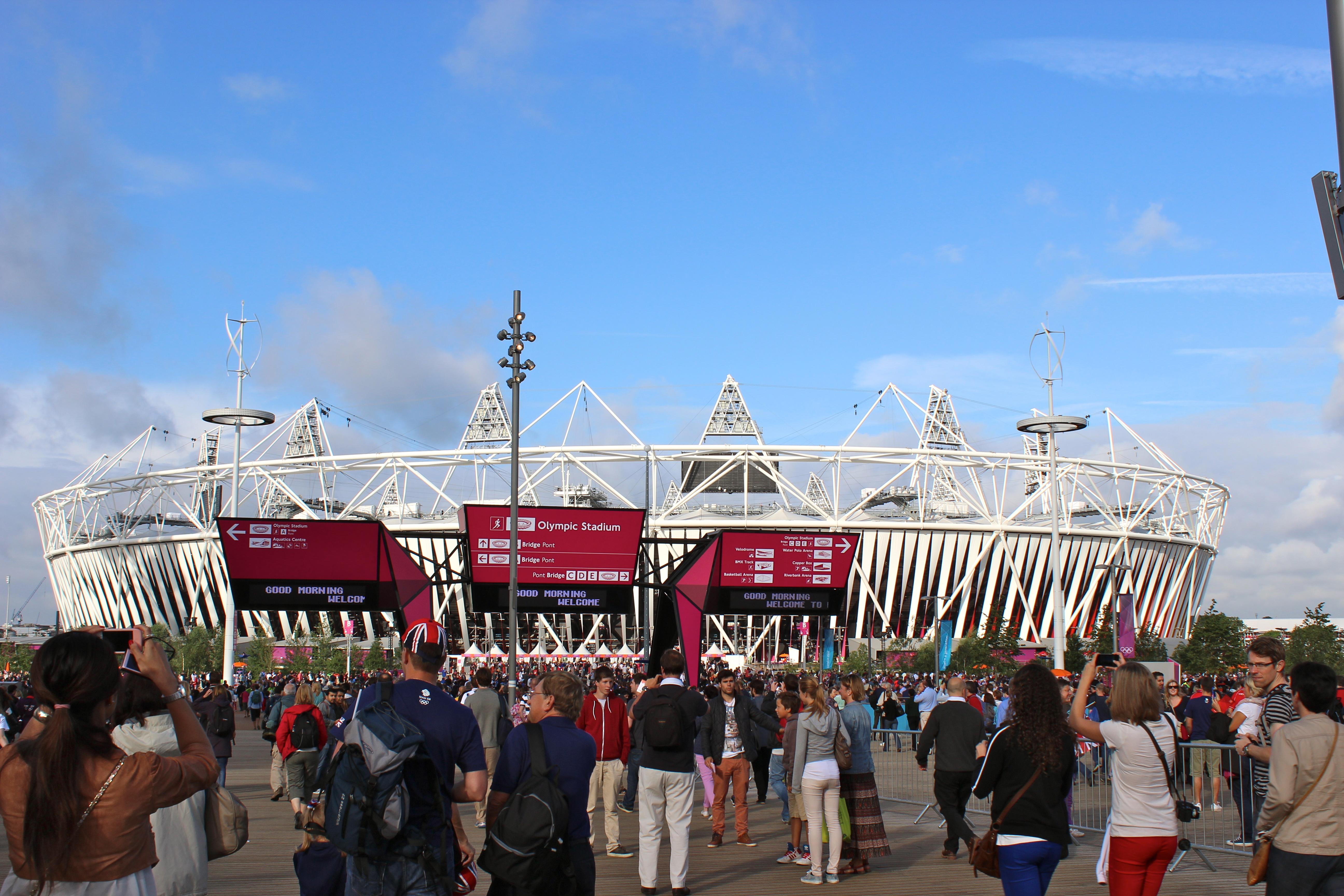olympics stadium london stratford