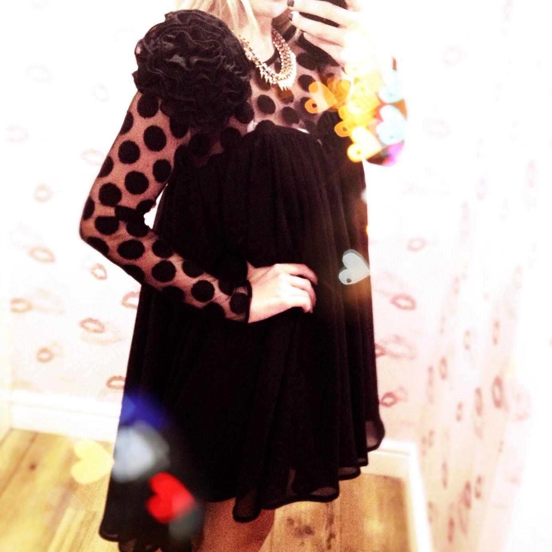 francesca couture black dress