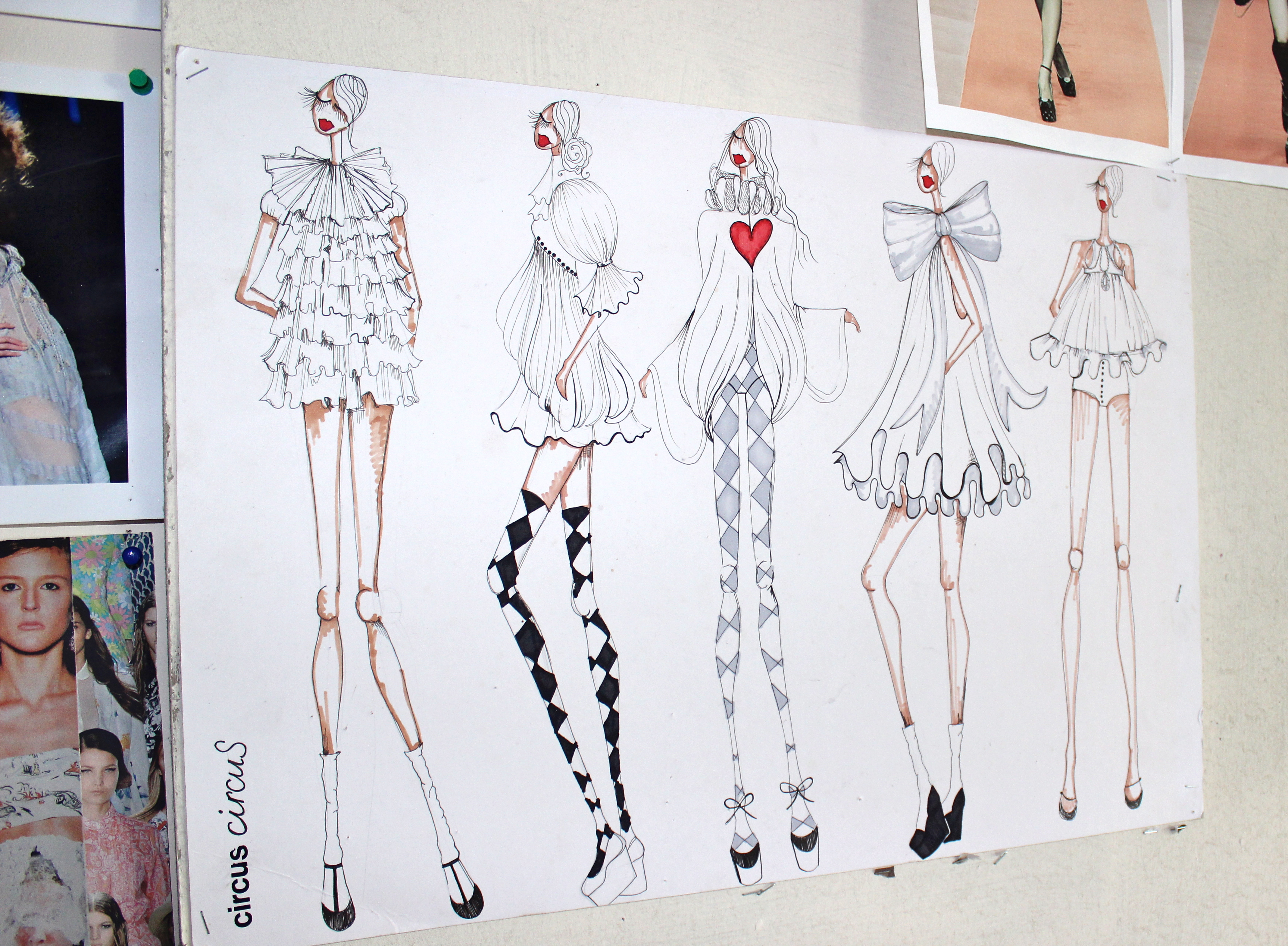 francesca couture fashion illustration