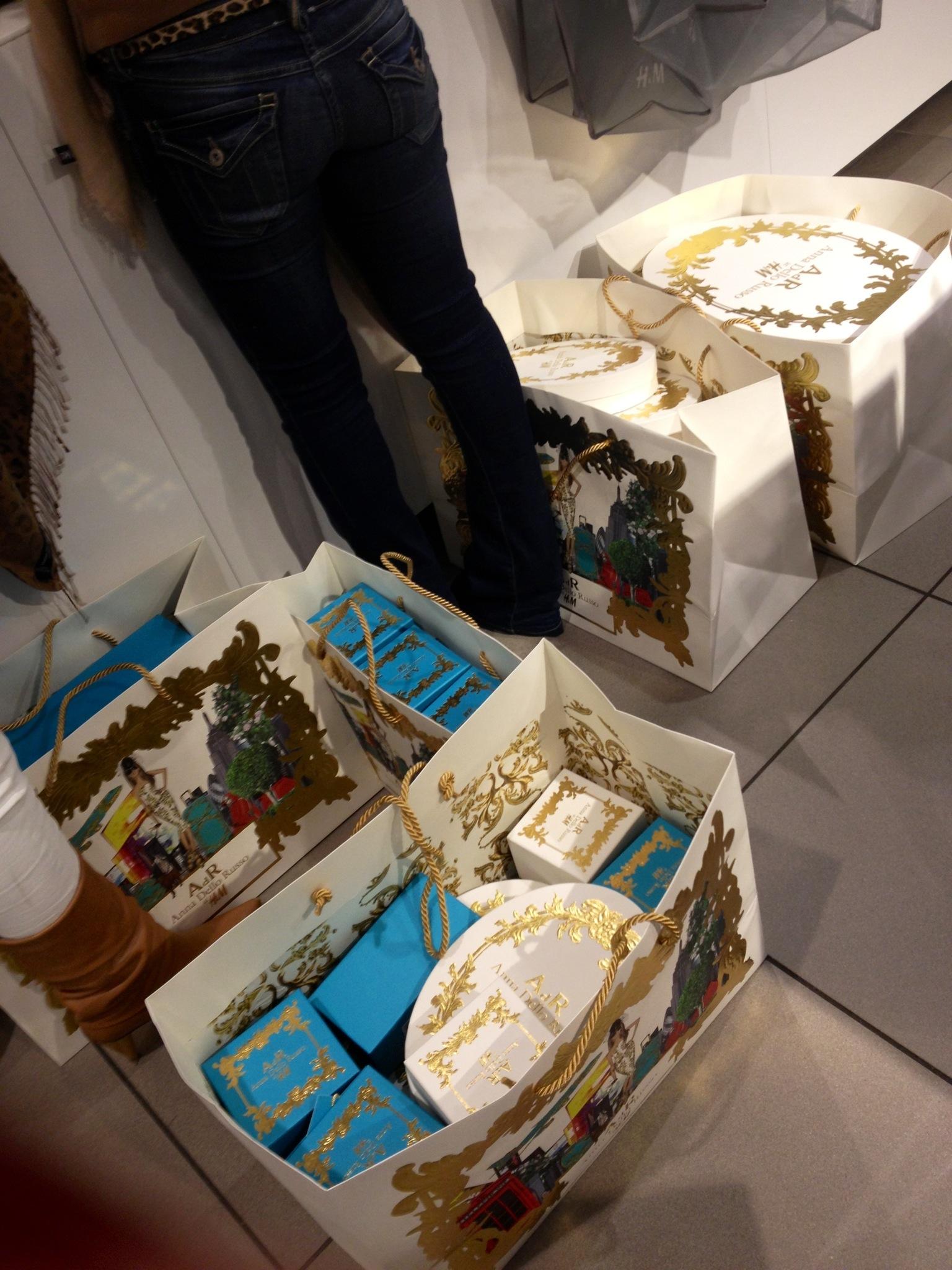 Anna Dello Russo shopping spree