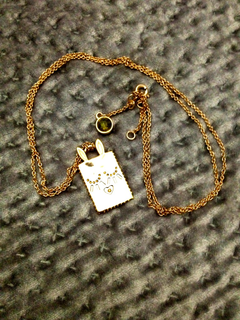 marc by marc jacobs rose gold necklace