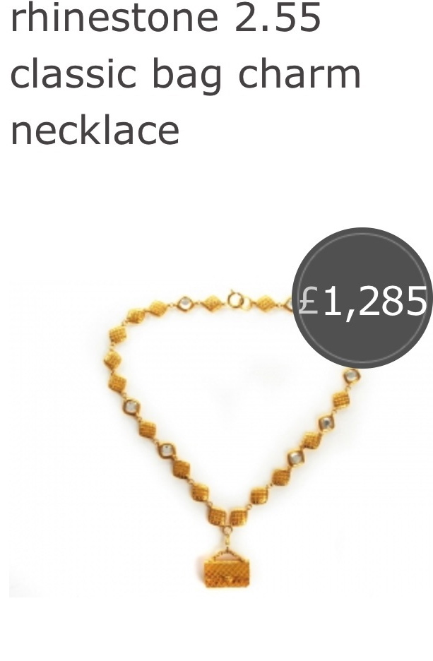 2.55 chanel bag necklace