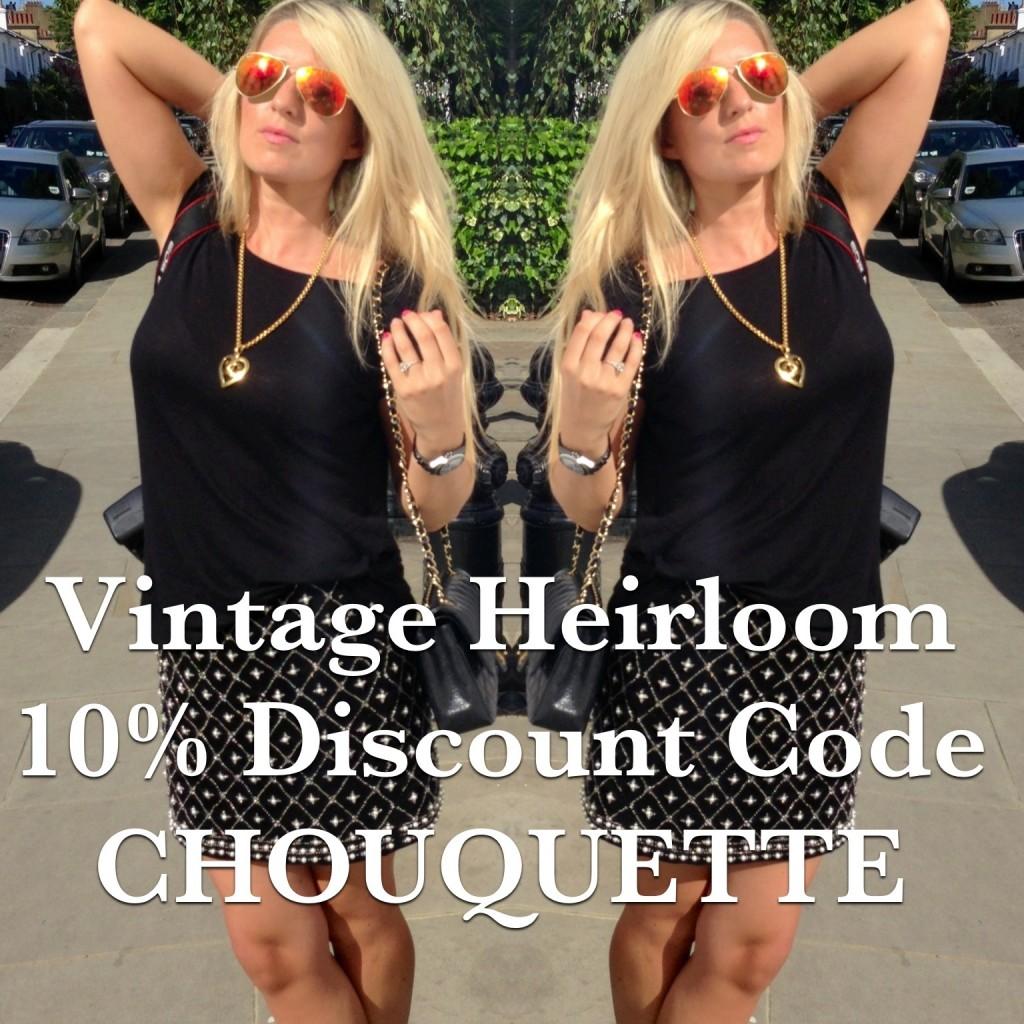 Vintage Heirloom Discount code