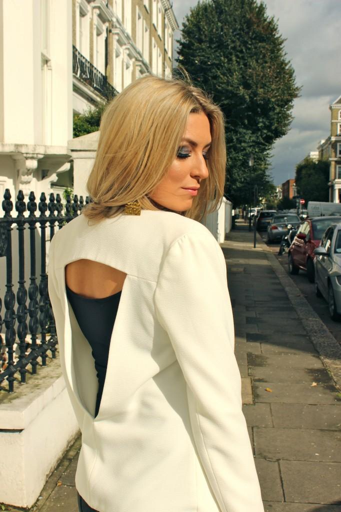 aqua couture blazer