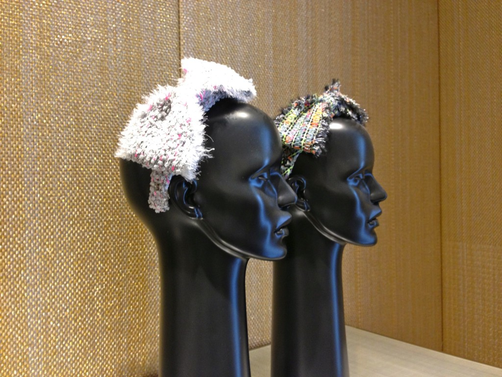 chanel head band ss14