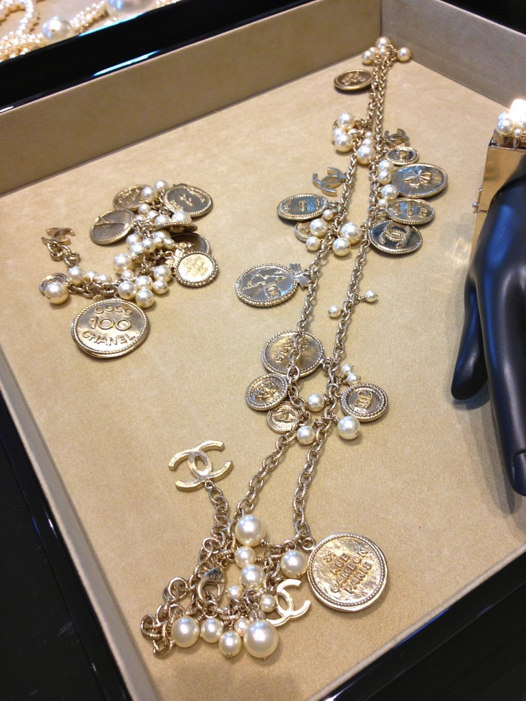 chanel necklace spring summer 14