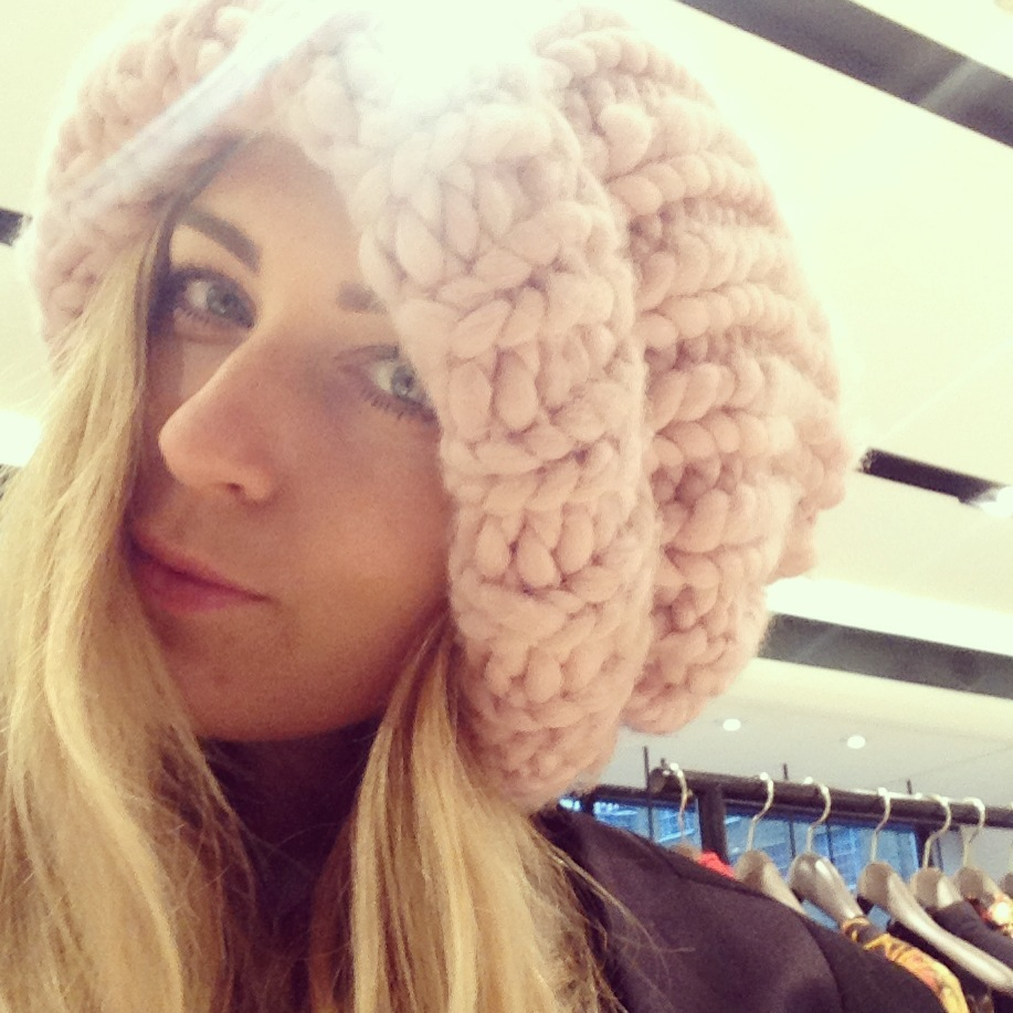 giles deacon wool over sized beanie