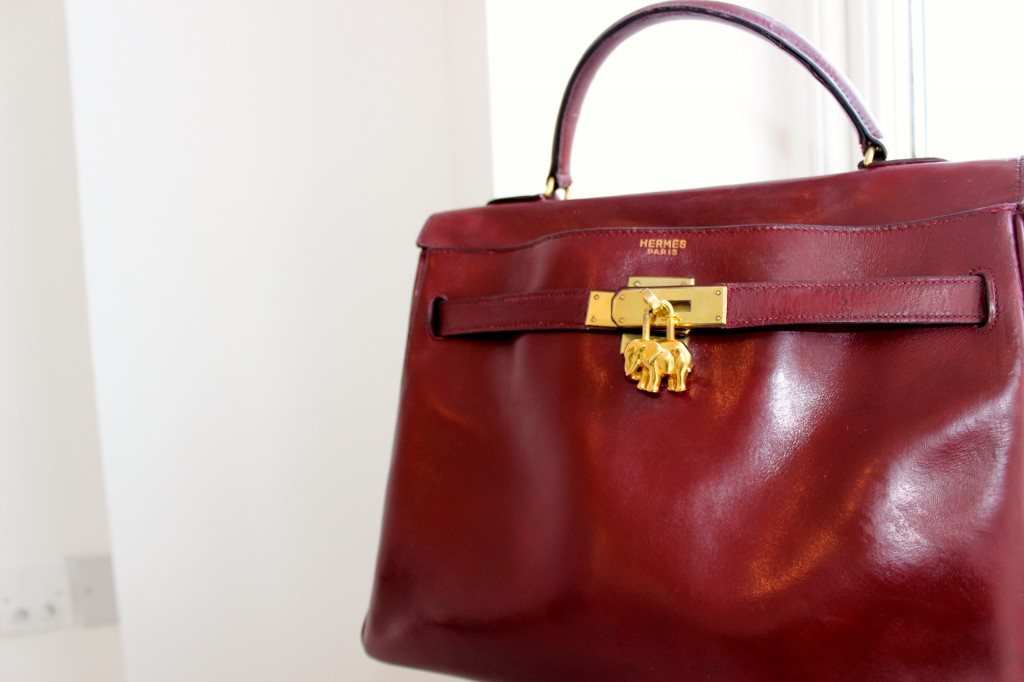 red kelly bag