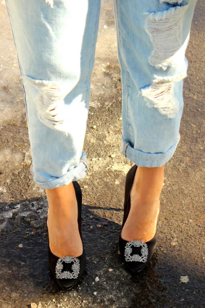 black hangisis shoes