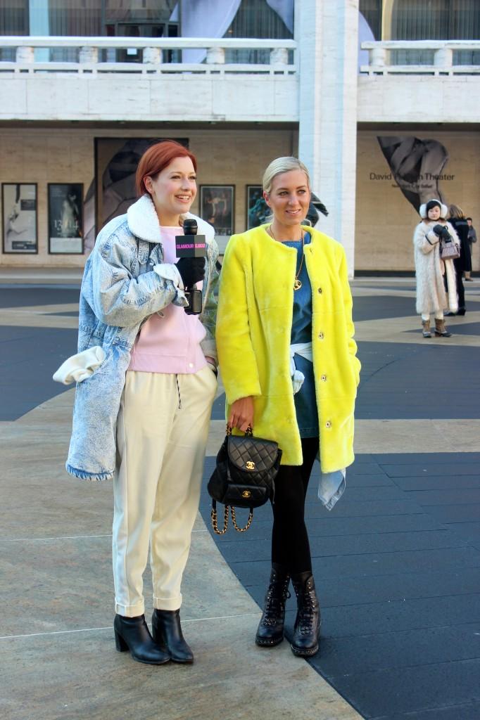 glamour magazine street style
