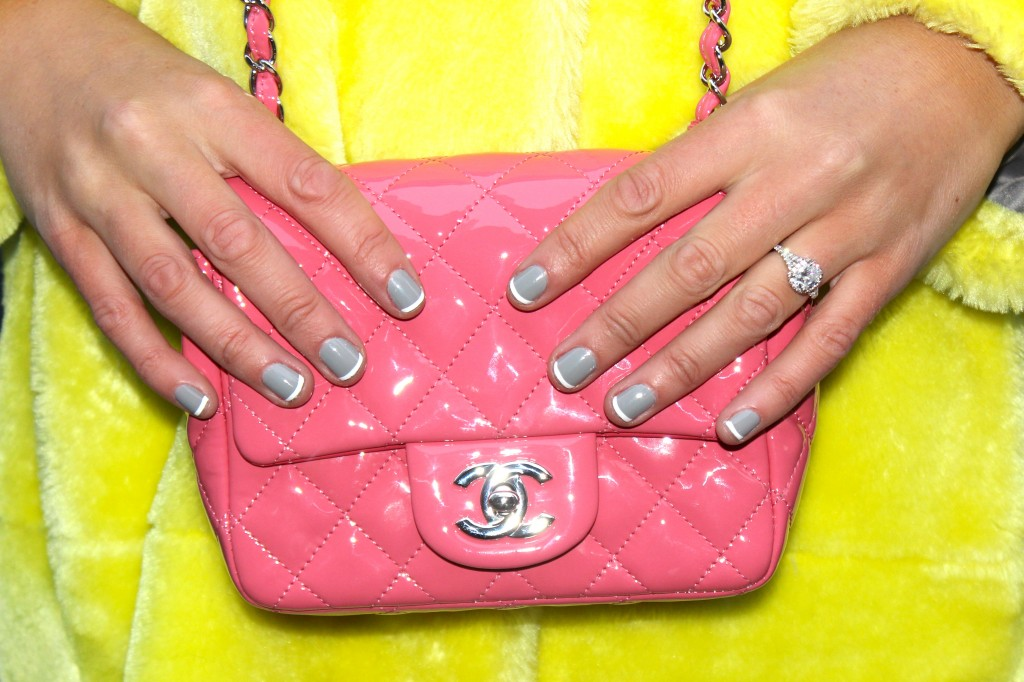 pink chanel classic flap