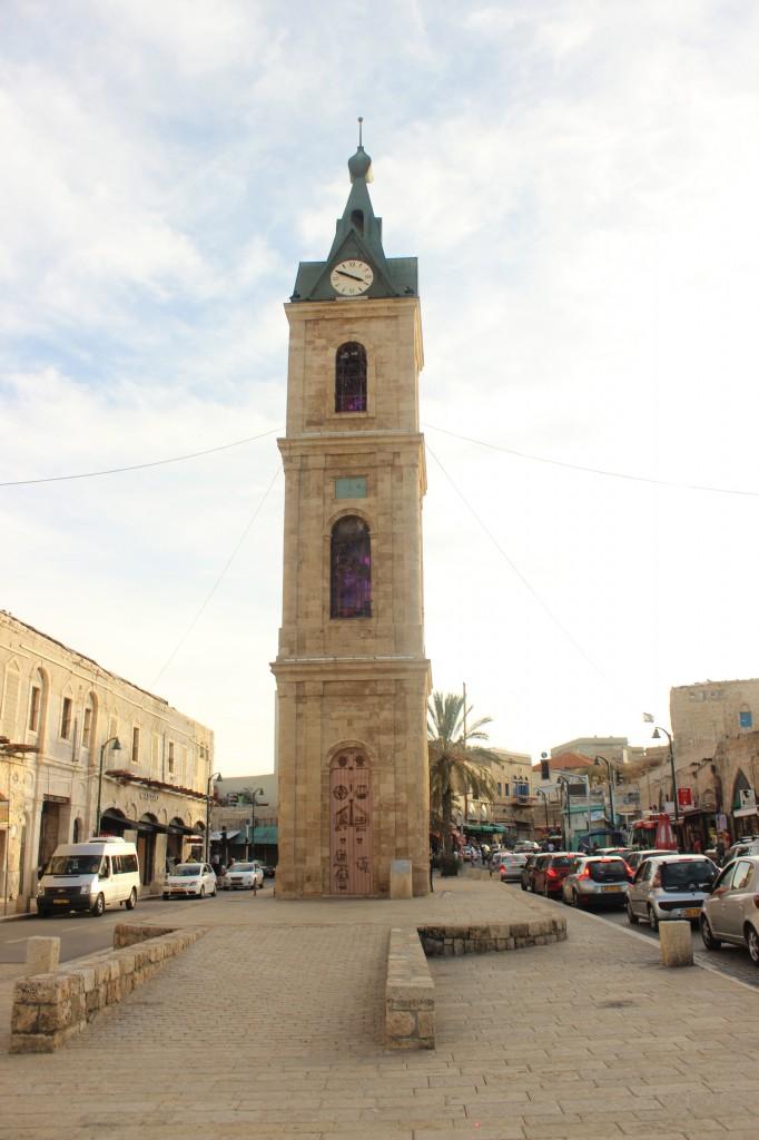 clock tower tel aviv