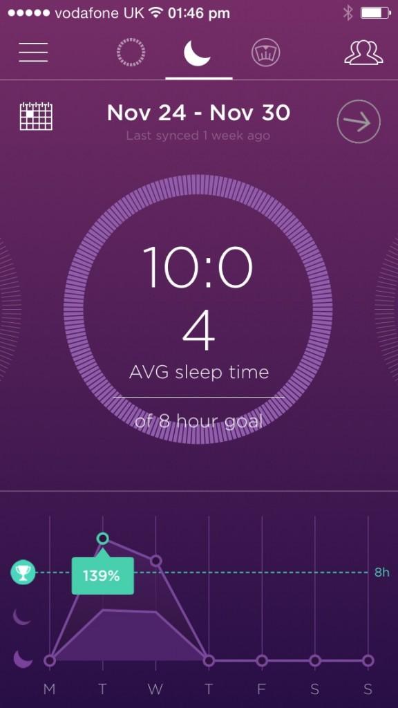 fitness exercise band and sleep monitor