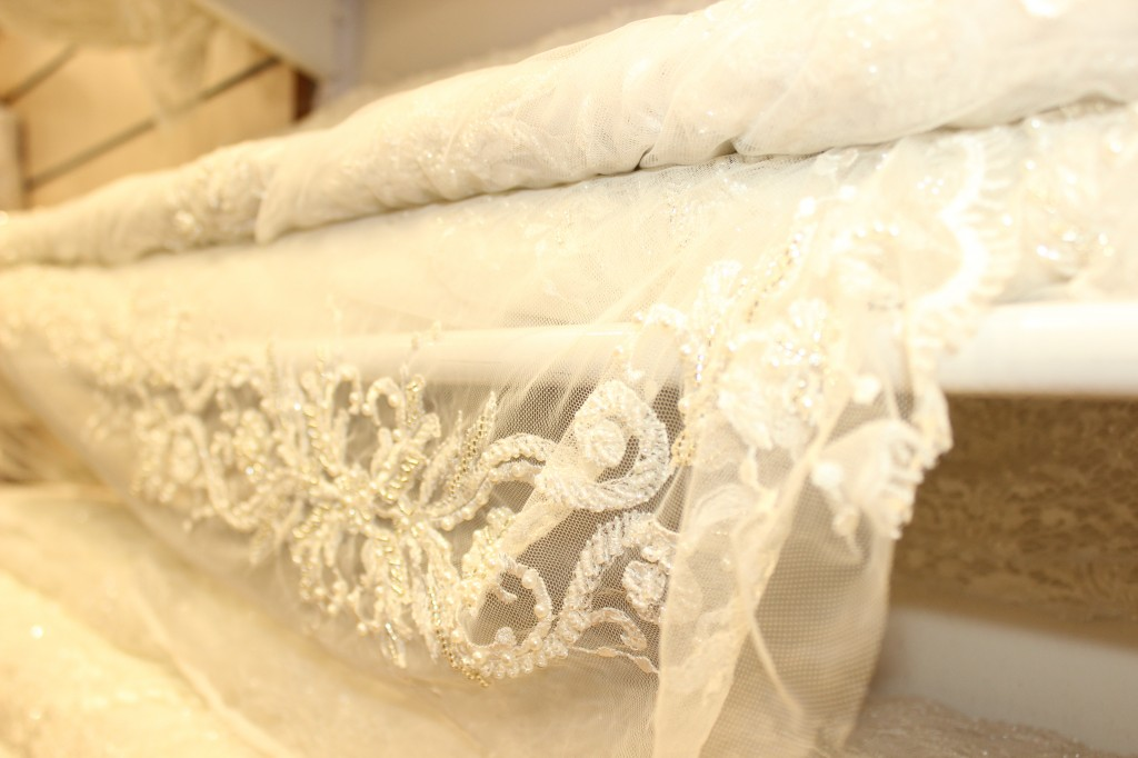 israel wedding fabric