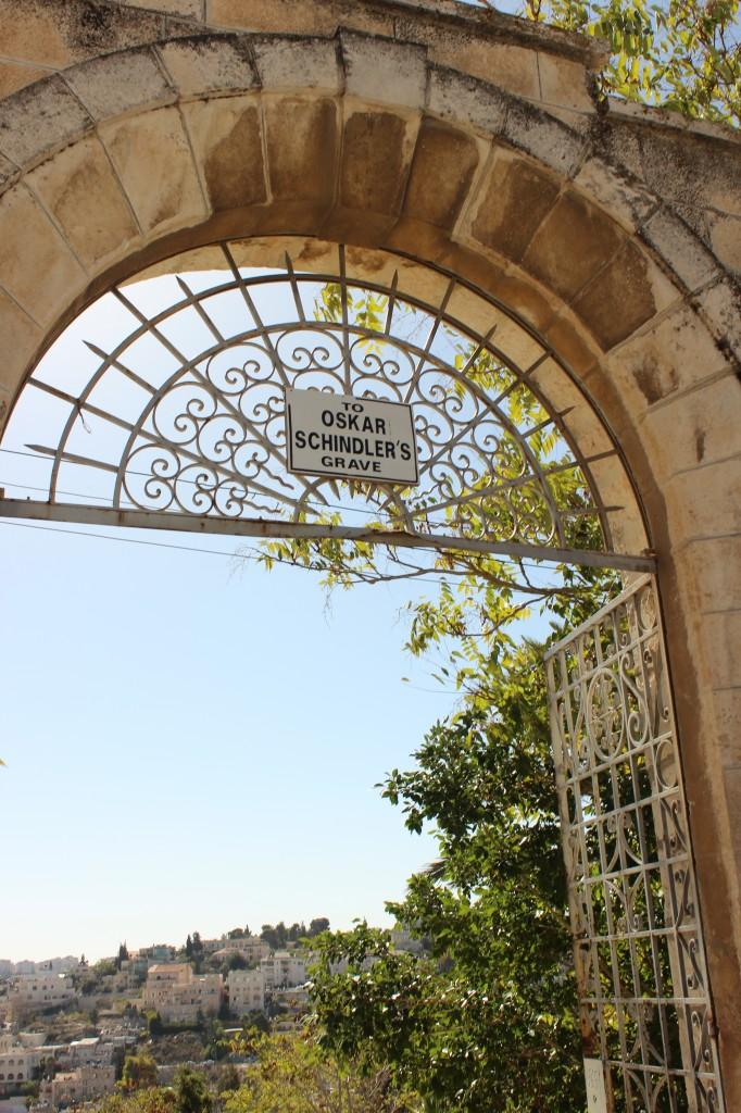 oscar shindler grave israel