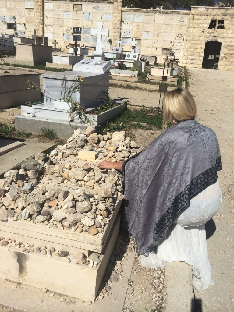 oskar shindlers grave israel