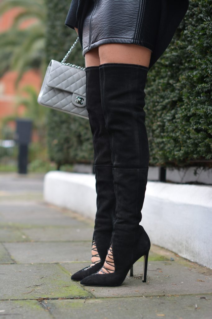 river island thigh high boots 5 inch and up